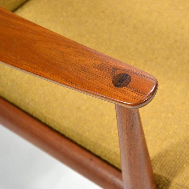 Peter Hvidt & Orla Mølgaard-Nielsen High Back Easy Chair For Sale - Image 9 of 11