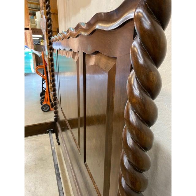 Traditional Dessin Fournir/Kerry Joyce Barley Twist Cal King Bedframe For Sale - Image 9 of 12