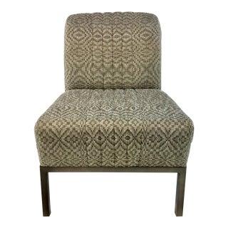Thomasville Gray Mercedes Slipper Chair For Sale