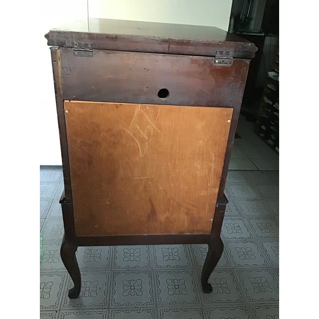 1900s Early 20th Century Antique Wooden Stereo Cabinet For Sale - Image 5 of 13