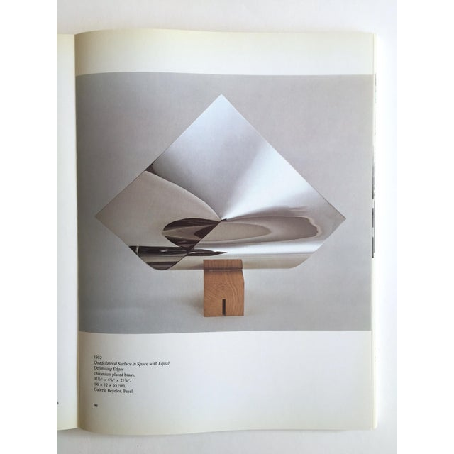 "White "" Max Bill "" Rare Vintage 1974 Lmtd 1st Edtn Iconic Museum Exhibition Catalogue Modernist Collector's Book For Sale - Image 8 of 13"
