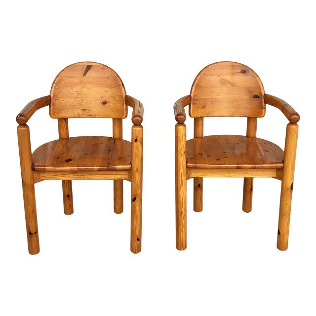 1970's Armchairs by Rainer Daumiller For Sale