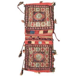 Persian Soumac Saddlebag For Sale