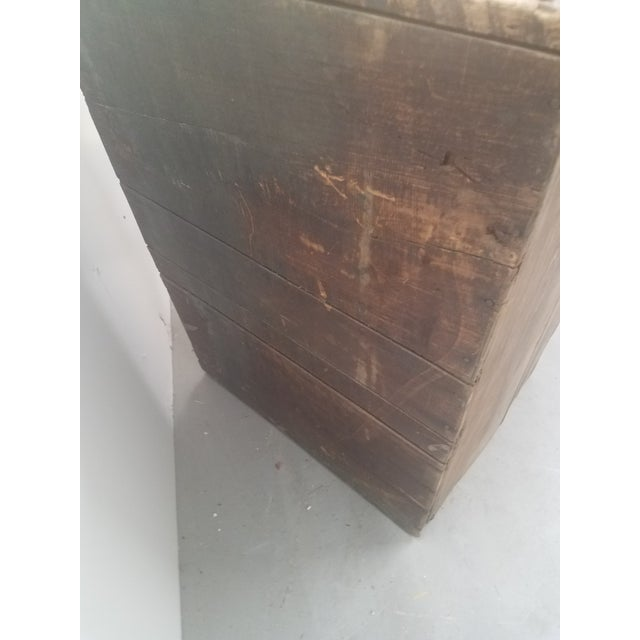 Antique Coffee Bin For Sale - Image 10 of 13