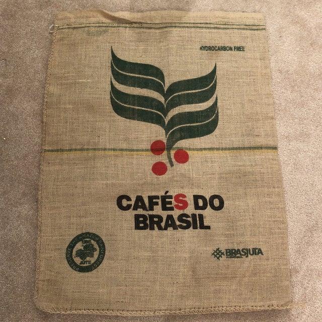 Boho Chic Vintage Brasil Coffee Bag For Sale - Image 3 of 3