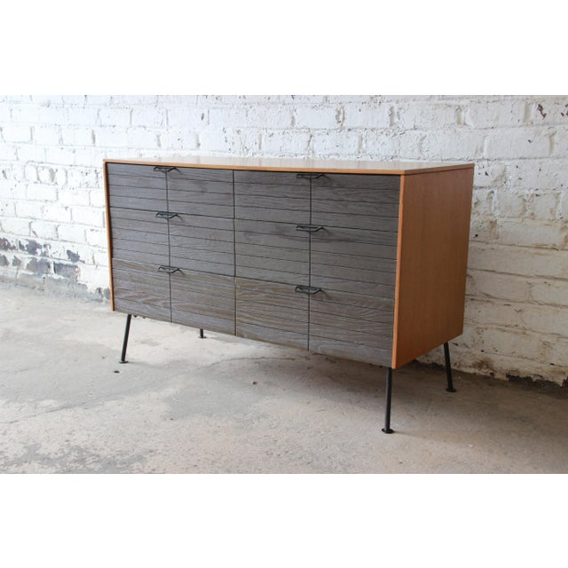 Mengel Furniture Co. Raymond Loewy for Mengel Mid-Century Modern Six-Drawer Dresser For Sale - Image 4 of 11