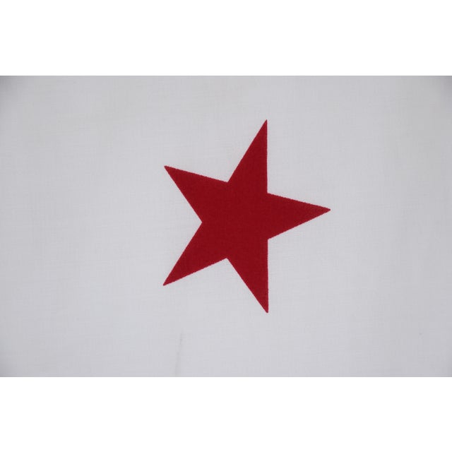 Large Vintage California Republic State Bear Flag For Sale - Image 9 of 10