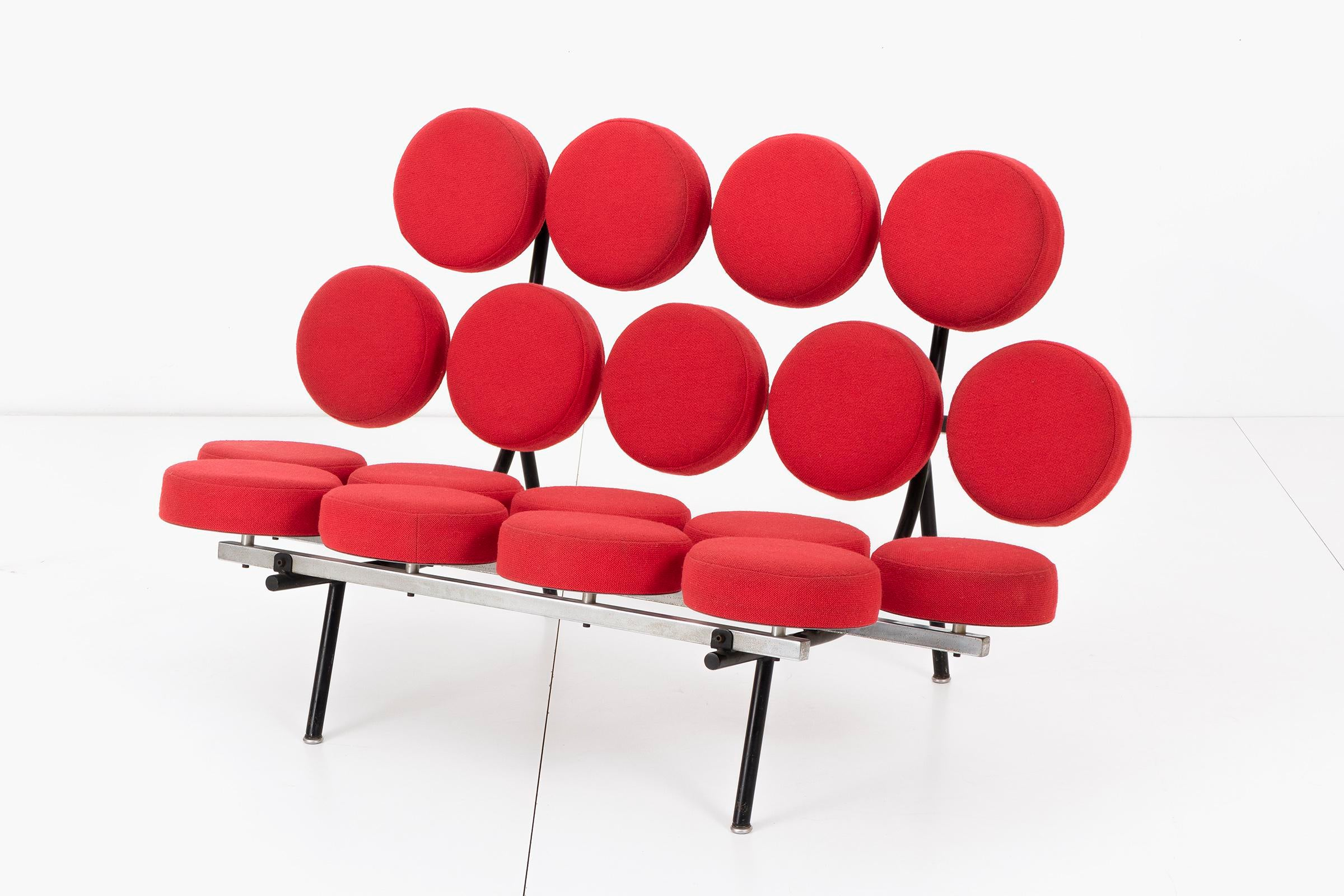 George Nelson Marshmallow Sofa For Sale. One Of The Most Iconic Designs Of  The Mid Century Modern Movement. Irving Harper