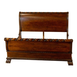 Traditional Wooden Bedframe For Sale