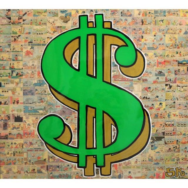 """Cash Money 2"" Original Artwork by Sean Keith For Sale - Image 11 of 11"