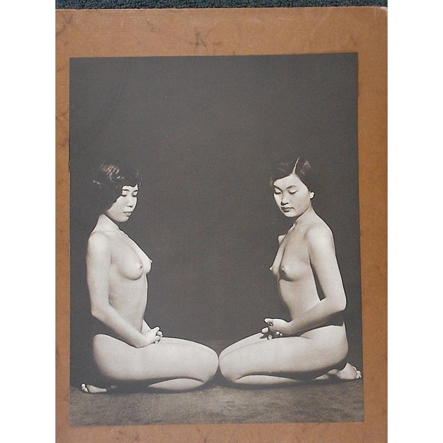 Asian Vintage Mid Century Silver Gelatin Nude Photograph For Sale - Image 3 of 4