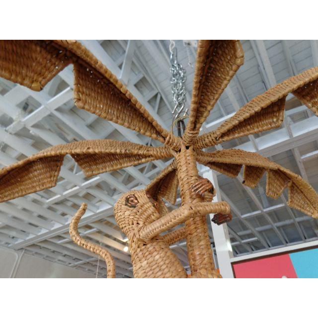 Mario Lopez Torres Palm Tree Monkey Chandelier - Image 4 of 6