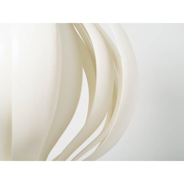 Metal Large Verner Panton Onion Pendants - a Pair For Sale - Image 7 of 9