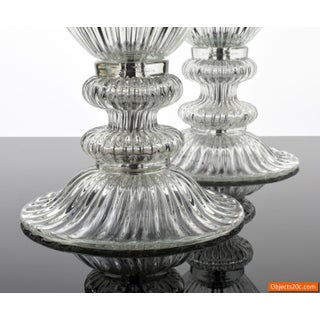 Vintage Mid Century Barovier & Toso Style Monumental Murano Lamps- A Pair Preview