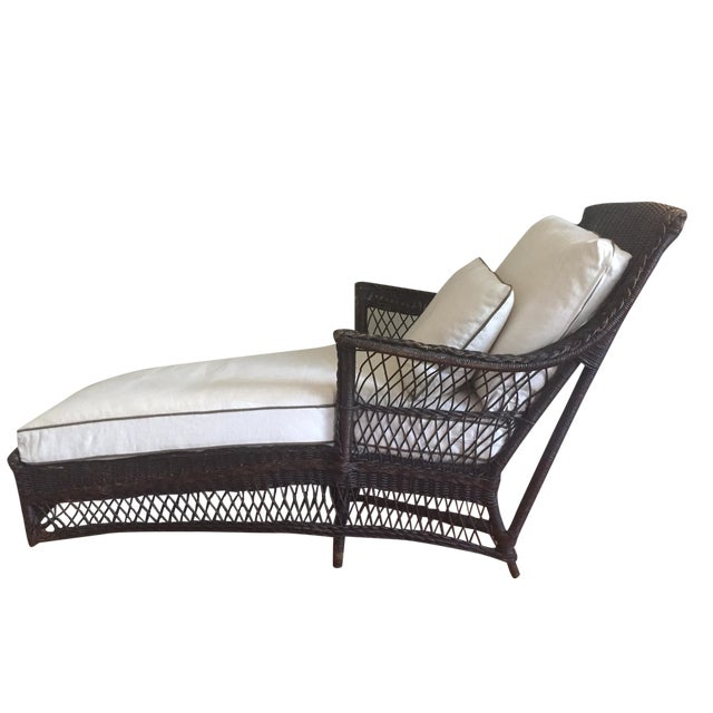 1890's American Chaise Longue - Image 1 of 5