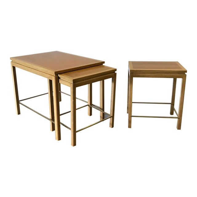1950s Edward Wormley for Dunbar Nesting Tables-Set Of 3 For Sale