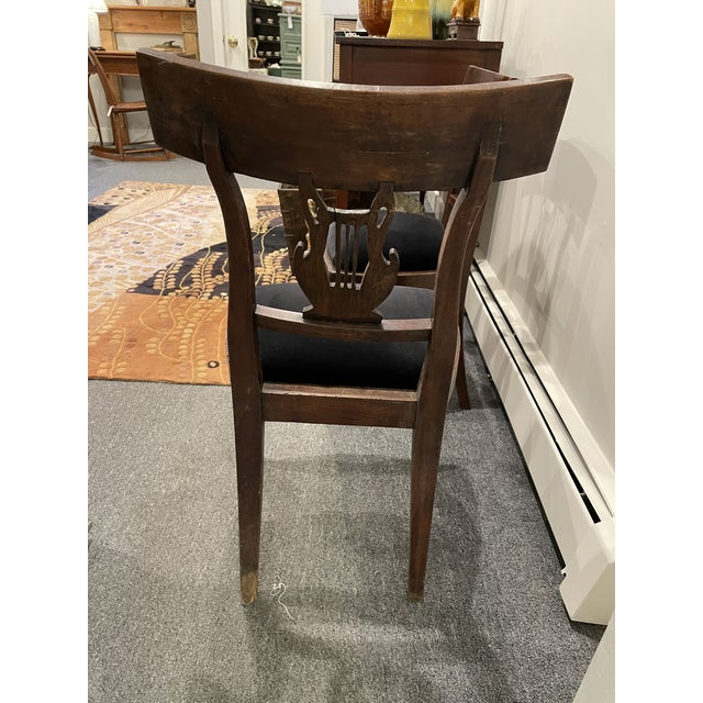 Early 19th Century Antique Side Chairs - a Pair For Sale In Boston - Image 6 of 8