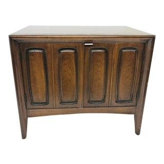 "Mid Century Modern ""Emphasis"" Record Cabinet by Broyhill For Sale"