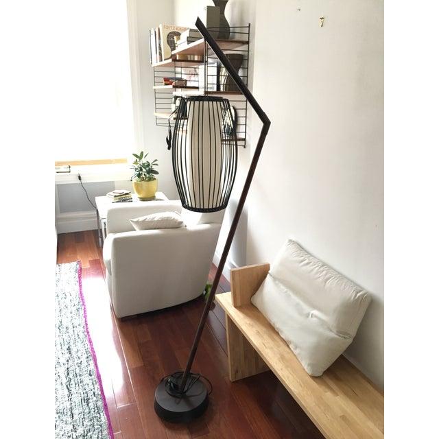 New York-Based Japanese Designer Floor Lamp - Image 3 of 8