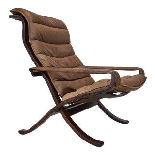 "1960s Ingmar Relling ""Flex"" Safari Chair for Westnofa For Sale"
