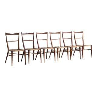 1960's Vintage Paul McCobb Irwin Collection Dining Chairs- Set of 6 For Sale