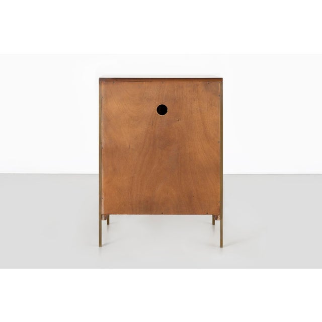 1950s Paul McCobb for H. Sacks + Sons Connoisseur Collection Walnut Cabinet For Sale - Image 5 of 9