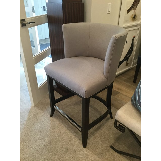 Cool Kravet Monaco Grey Linen Counter Stool Ocoug Best Dining Table And Chair Ideas Images Ocougorg