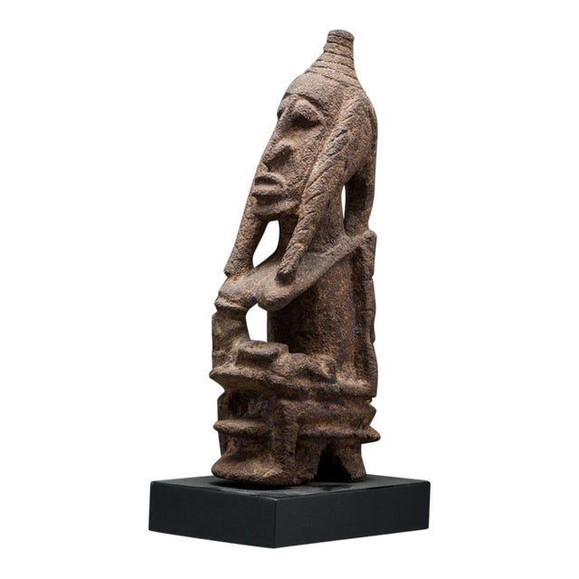 Tellem Sculpture of a Seated Woman For Sale