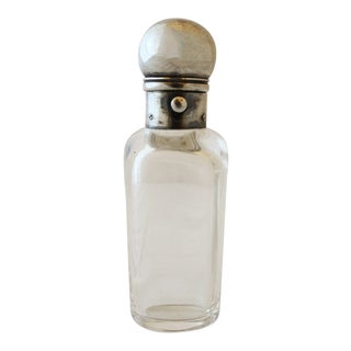 1920s Vintage Rock Crystal Bottle For Sale