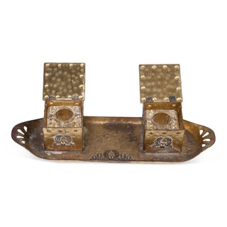 Antique French Inkwell For Sale