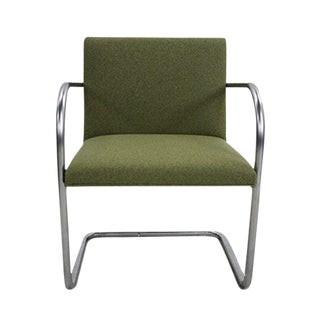 Hudson Olive Heather Tubular Side Chair For Sale