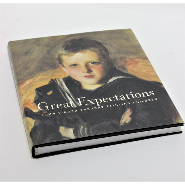 "American ""Great Expectations"" John Singer Sargent Brooklyn Museum Book and Signature Blue Museum Printed Bag For Sale - Image 3 of 12"