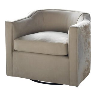 vanCollier Caldwell Swivel Chair For Sale
