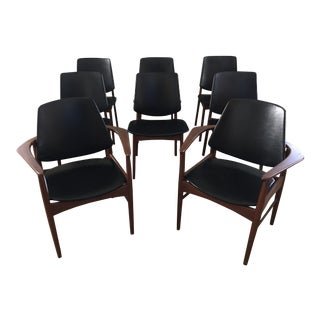 Arne Hovmand-Olsen Teak Dining Chairs - Set of 8