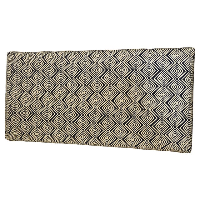 1960s Milo Baughman Style Upholstered Bench For Sale - Image 5 of 6