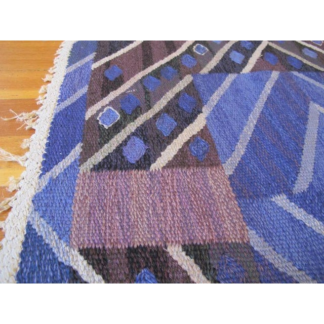 Marianne Richter Marta Maas-Fjetterstrom Flatwoven Carpet For Sale - Image 4 of 10