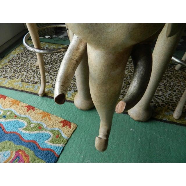 Marge Carson Elephant High Table & Stools - Set of 3 - Image 6 of 9