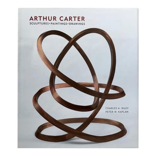 """Arthur Carter Sculpture-Paintings-Drawings"" Abrams Publishing-2009 For Sale"
