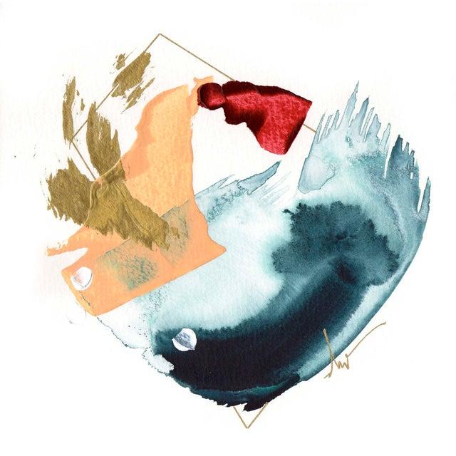 "Beth Winterburn Original Abstract - ""5/13. 13."" - Image 2 of 3"