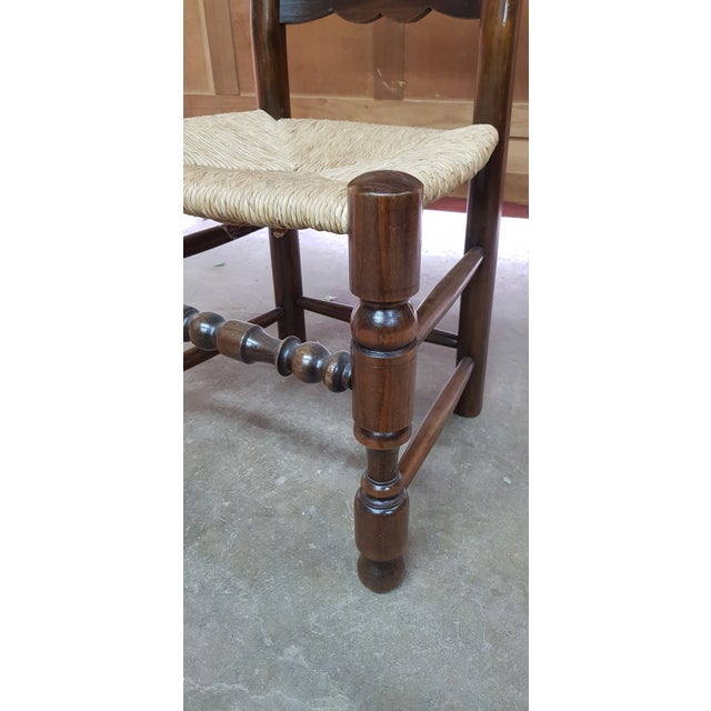 1900s Vintage Provencal Dining Chairs- Set of 4 For Sale - Image 9 of 10