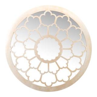 Contemporary Beige Anneli Mirror For Sale