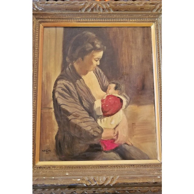 PRESENTING a GORGEOUS Medium sized Oil on Canvas, by Japanese Master Impressionist, Hiyashi NoBuo in beautiful original...