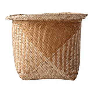 Vintage Geometric Planter Basket