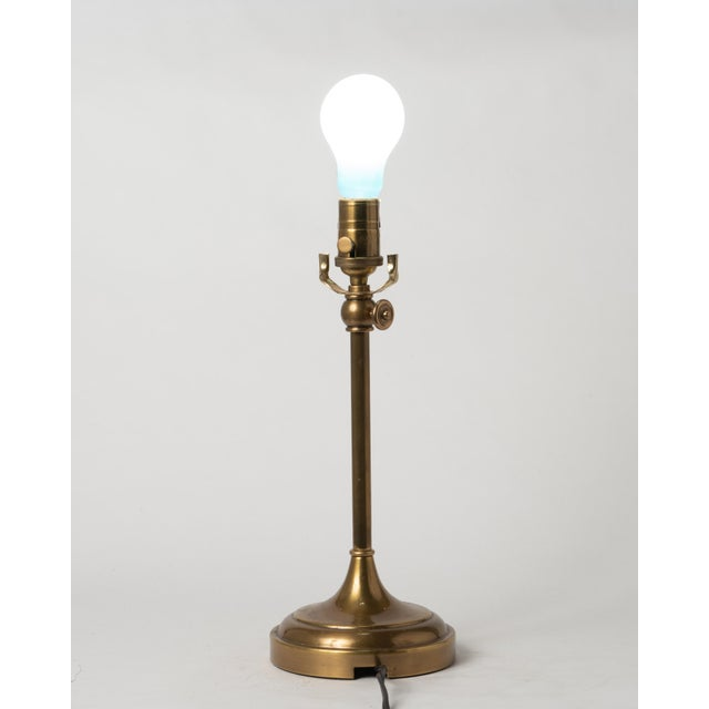 Vintage Bz Visual Comfort Thomas O'Brien Adjustable Brass Table Lamp For Sale - Image 9 of 13