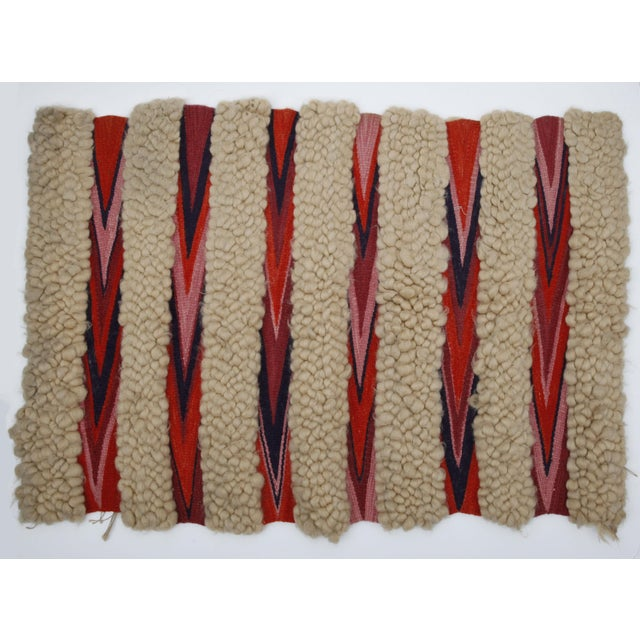 1960s Vintage Wool & Flatweave Wall Hanging - Image 2 of 4
