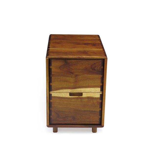 Jim Sweeney Jim Sweeney Koa Filing Cabinets - a Pair For Sale - Image 4 of 11