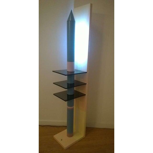 1980s Sculptural Rocket Shaped Floor Lamp For Sale - Image 9 of 11
