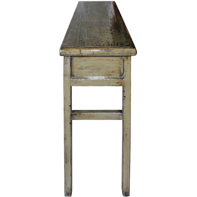 Gray Console Table - Image 6 of 6