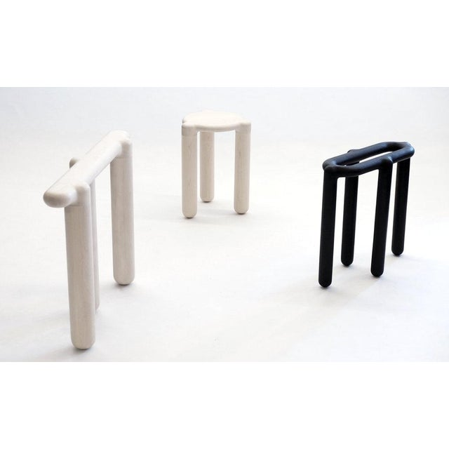 Modern Loïc Bard Stool Bone 09 For Sale - Image 3 of 8