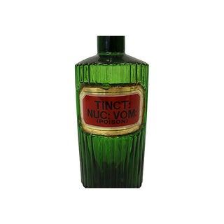 Antique English Poison Apothecary Bottle Preview